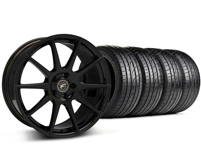 Forgestar CF10 Monoblock Piano Black Wheel & Sumitomo Tire Kit - 20x9 (15-16 All)
