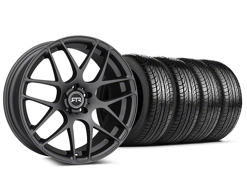 RTR Charcoal Wheel & Pirelli Tire Kit - 19x9.5 (15-17 All)