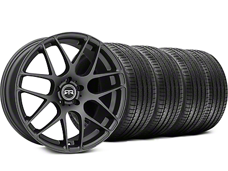 RTR Charcoal Wheel & Sumitomo Tire Kit - 19x9.5 (15-16 All)
