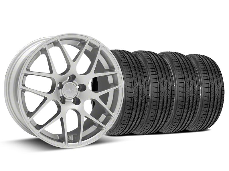 AMR Silver Wheel & Sumitomo Tire Kit - 19x8.5 (15-16 All)