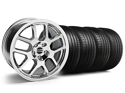 2007 GT500 Chrome Wheel & Falken Tire Kit - 18x9.5 (05-14 All)