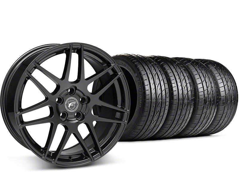 Forgestar F14 Monoblock Piano Black Wheel & Sumitomo Tire Kit - 19x9 (15-17 All)