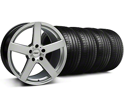 TSW Rivage Hyper Silver Wheel & Falken Tire Kit - 18x9.5 (05-14 All)