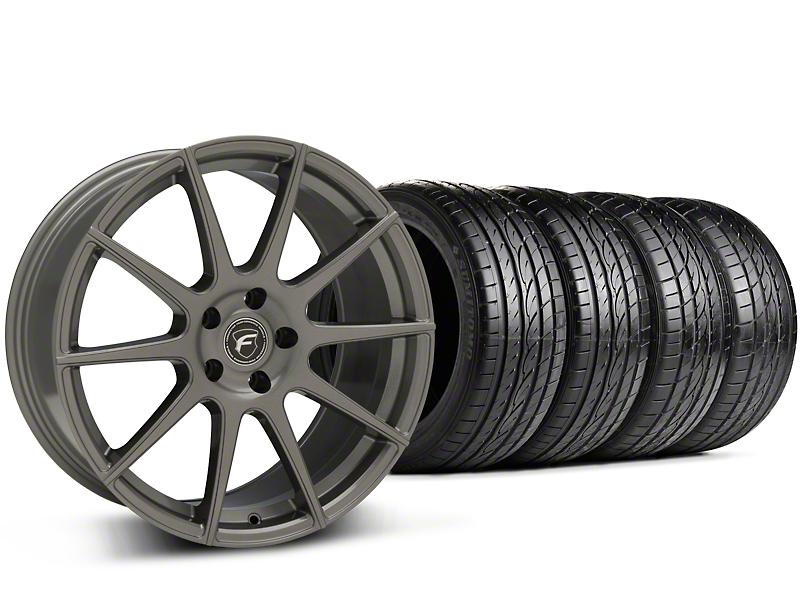 Forgestar CF10 Monoblock Gunmetal Wheel & Sumitomo Tire Kit - 19x9 (15-17 All)