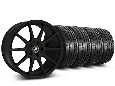 Forgestar CF10 Monoblock Textured Black Wheel & Mickey Thompson Tire Kit - 19x9 (15-16 All)