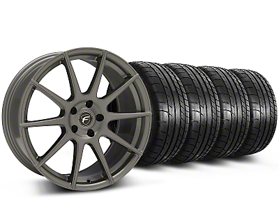 Forgestar CF10 Monoblock Gunmetal Wheel & Mickey Thompson Tire Kit - 19x9 (15-17 All)