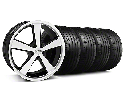 Nova Black Wheel & Falken Tire Kit - 20x8.5 (05-14 GT, V6)