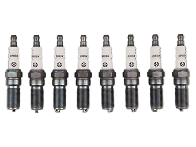Brisk Silver Racing Spark Plugs - Low Boost (11-16 GT; 12-13 Boss)