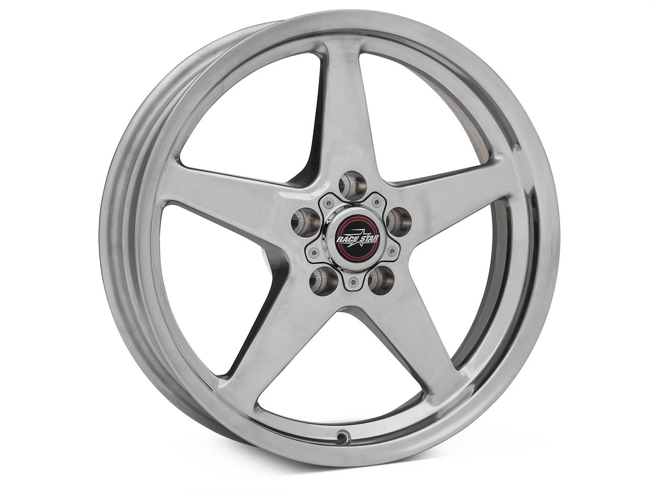 Race Star Drag Star Polished Wheel - Direct Drill - 18x5 (05-14 All)