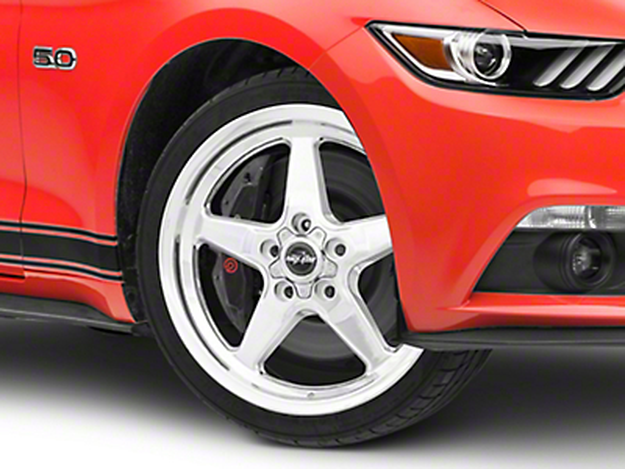 Race Star Drag Star Polished Wheel - Direct Drill - 18x5 (15-16 All)