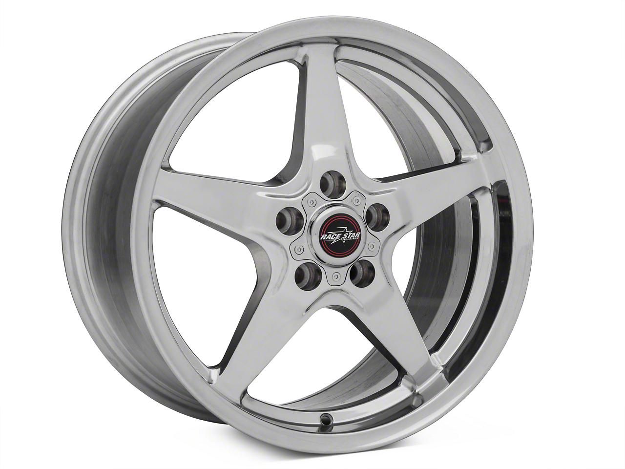 Race Star Drag Star Polished Wheel - Direct Drill - 18x10.5 (05-14 All)