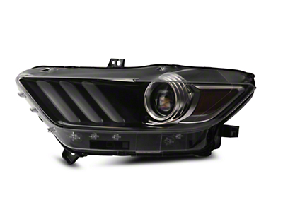 Ford Factory Replacement HID Headlight - Driver Side (15-16 All)