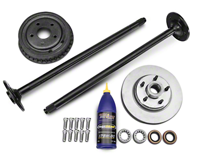 Complete 5-Lug Conversion Kit - 28 Spline (87-93 5.0L)
