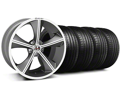 Shelby CS-70 Gunmetal Wheel & Falken Tire Kit - 20x9 (05-14 All)