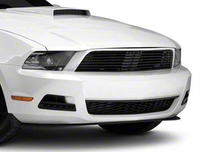 MMD by FOOSE Billet Upper Replacement Grille - Black (10-12 V6)