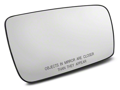 Non-Heated Door Mirror Glass - Right Side (05-09 All)