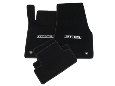 Lloyd Black Floor Mats - GT/CS Logo (13-14 All)
