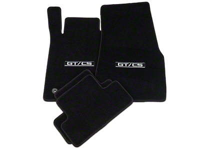Lloyd Black Floor Mats - GT/CS Logo (11-12 All)