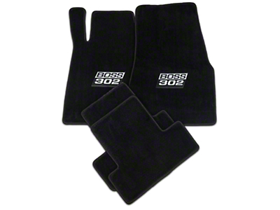 Lloyd Black Floor Mats - BOSS 302 Logo (11-12 All)