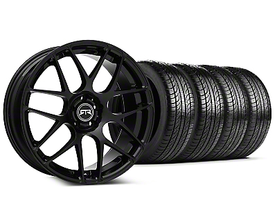 RTR Black Wheel & Pirelli Tire Kit - 19x8.5 (05-14 All)
