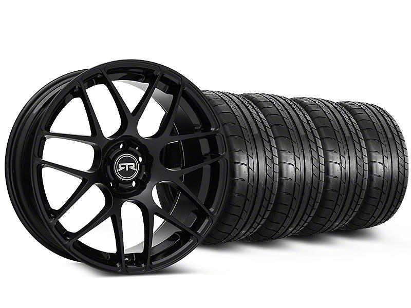 RTR Black Wheel & Mickey Thompson Tire Kit - 19x8.5 (05-14 All)