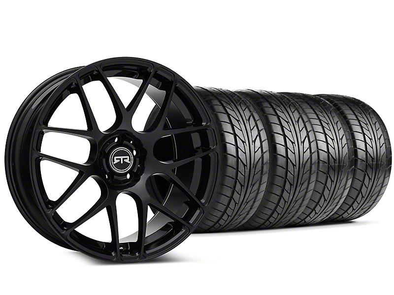 RTR Black Wheel & NITTO Tire Kit - 20x9 (05-14 All)