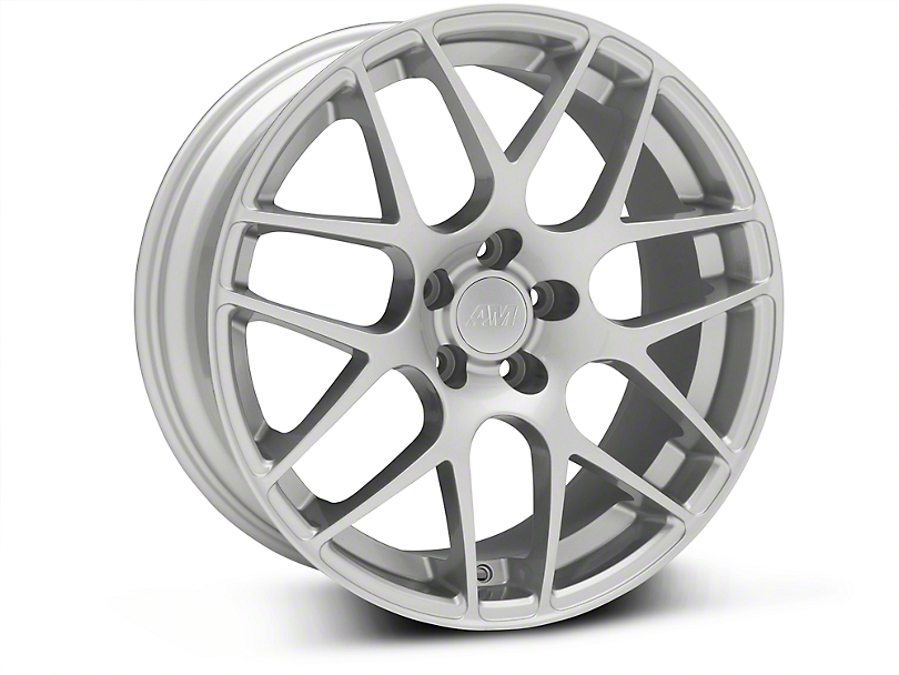 AMR Silver Wheel - 18x8 (05-14 All, Excludes 13-14 GT500)
