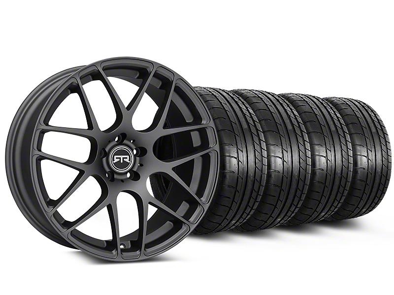 RTR Charcoal Wheel & Mickey Thompson Tire Kit - 20x9 (05-14 All)