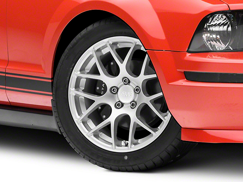 AMR Silver Wheel - 18x9 (05-14 All, Excludes 13-14 GT500)