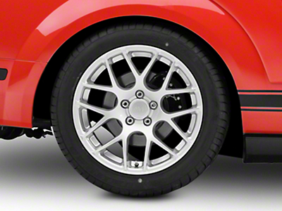 AMR Silver Wheel - 18x10 (05-14 All, Excludes 13-14 GT500)