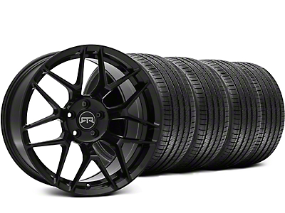 RTR Tech 7 Black Wheel & Sumitomo Tire Kit - 19x9.5 (15-17 All)