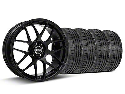 Staggered RTR Black Wheel & Sumitomo Kit - 19x8.5/10 (05-14 All)