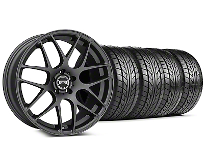 Staggered RTR Charcoal Wheel & NITTO Tire Kit - 20x9/10 (05-14 All)