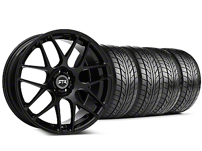Staggered RTR Black Wheel & NITTO Tire Kit - 20x9/10 (05-14 All)