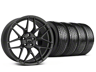 Staggered RTR Tech 7 Charcoal Wheel & Pirelli Tire Kit - 19x9.5/10.5 (15-16 All)