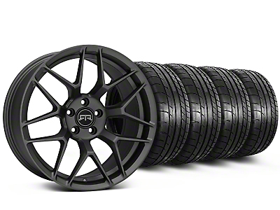 Staggered RTR Tech 7 Charcoal Wheel & Mickey Thompson Tire Kit - 19x9.5/10.5 (15-16 All)