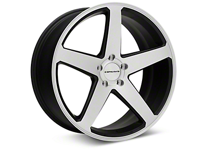 Concavo CW-5 Matte Black Machined Wheel - 20x9 (05-14 All)
