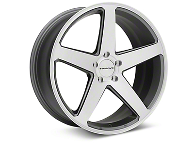 Concavo CW-5 Matte Grey Machined Wheel - 20x9 (05-14 All)