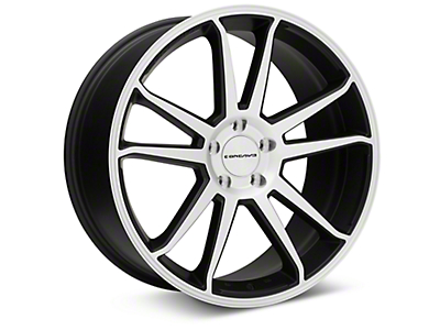 Concavo CW-S5 Matte Black Machined Wheel - 20x9 (05-14 All)