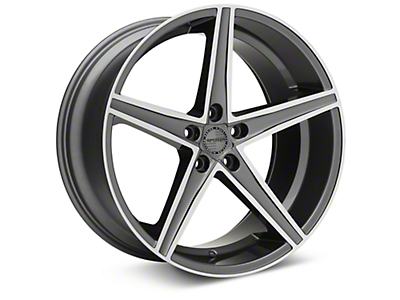 Sporza Topaz Gunmetal Machined Wheel - 20x10 (05-14 All)