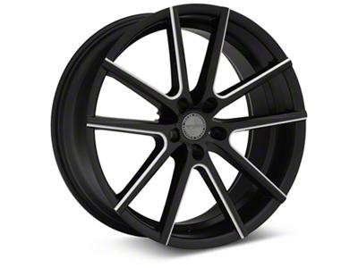 Sporza V5 Satin Black Machined Wheel - 20x8.5 (05-14 All)