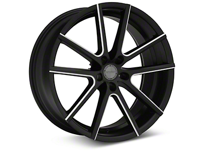 Sporza V5 Satin Black Machined Wheel - 20x8.5 (05-14 All)