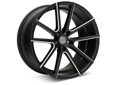 Sporza V5 Satin Black Machined Wheel - 20x10 (05-14 All)