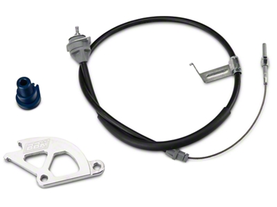 BBK Adjustable Clutch Cable, Quadrant And Firewall Adjuster Kit (79-95 5.0L)