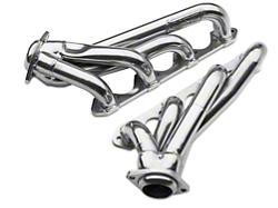 BBK Chrome Unequal Length Mustang Shorty Headers 1515 (86