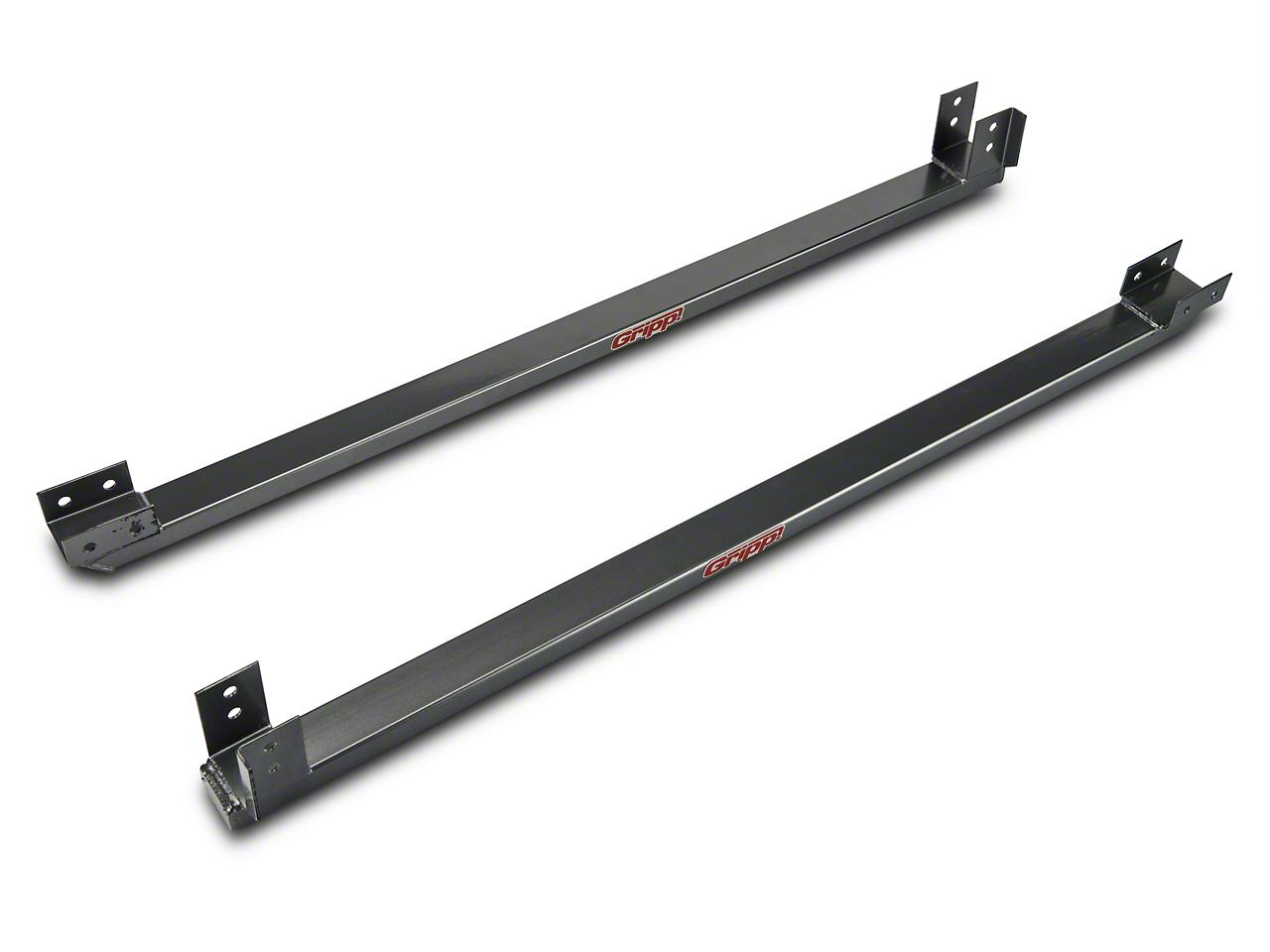 BBK Full Length Subframe Connectors - Charcoal (79-93 All)