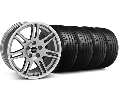 Staggered 10th Anniversary Cobra Style Anthracite Wheel & Falken Tire Kit - 18x9/10 (05-14)