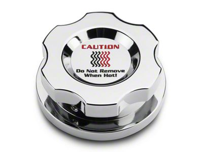 Add Modern Billet Chrome Radiator Cap Cover