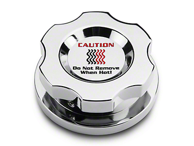 Modern Billet Chrome Radiator Cap Cover (15-17 All)