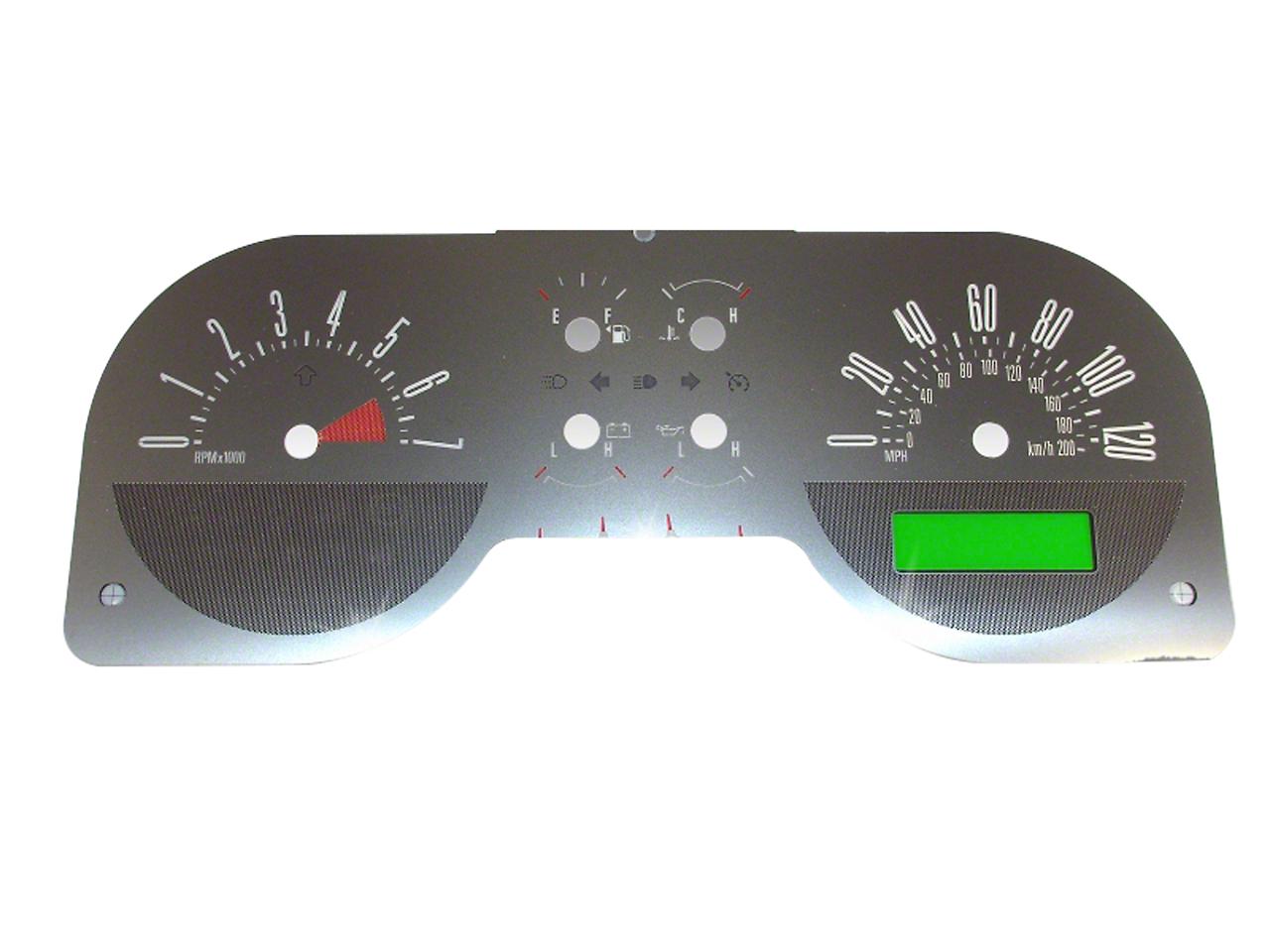 Staggered 2010 GT500 Style Black Wheel & Falken Tire Kit - 18x9/10 (05-14)